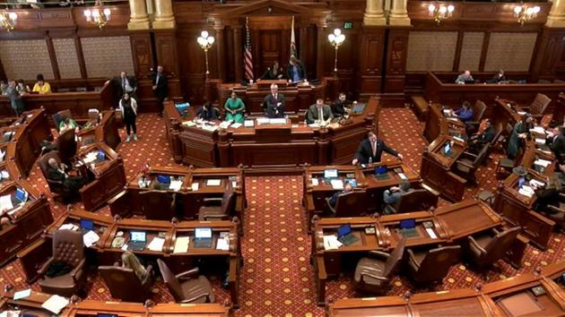 Illinois Senate chamber
