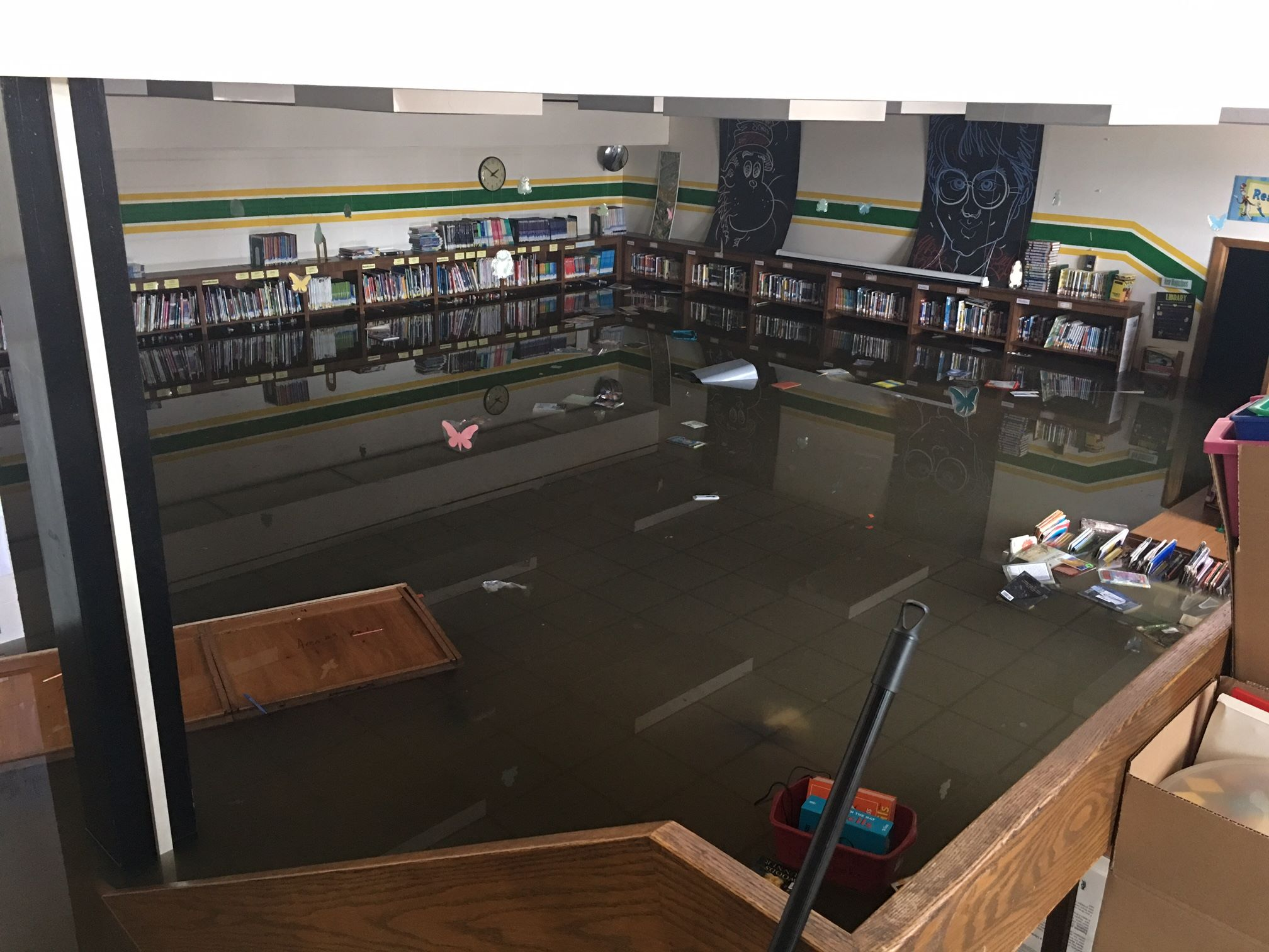 Murphy School flooding