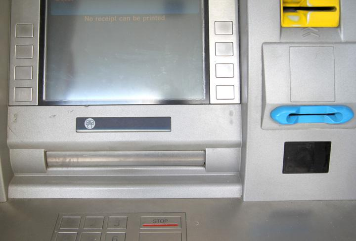 Important information regarding ATM skimmers