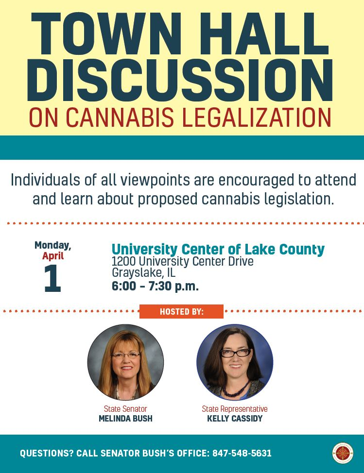 cannabis town hall flyer