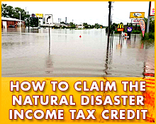Natural Disaster Tax Credit